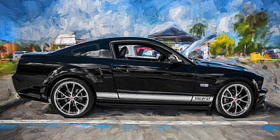 Photograph - 2007 Ford Mustang Shelby Gt Painted by Rich Franco