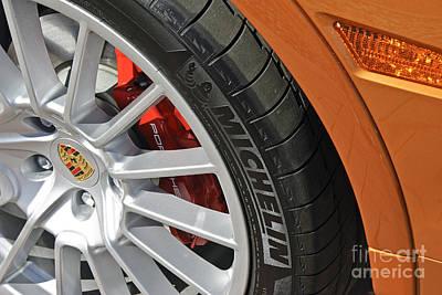 Photograph - 2009 Porsche Cayenne Gts Burnt Orange by David Zanzinger