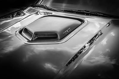 2010 Dodge Challenger Rt Hemi Bw    Art Print by Rich Franco