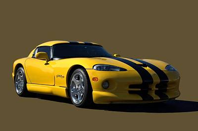 Photograph - 2011 Dodge Viper Rt10 by Tim McCullough