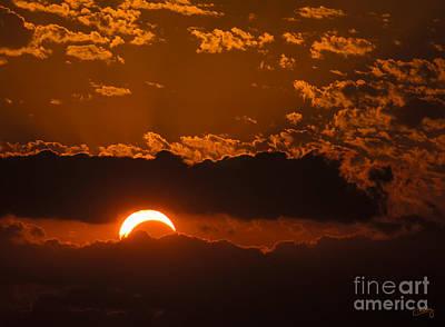 2012 Solar Eclipse Art Print