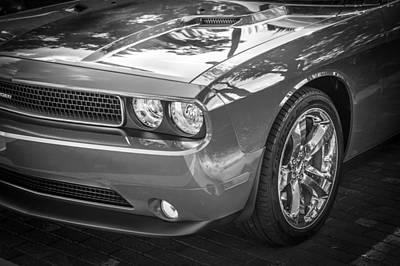 2013 Dodge Challenger Art Print by Rich Franco