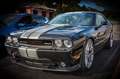 Photograph - 2013 Dodge Challenger Srt by Rich Franco