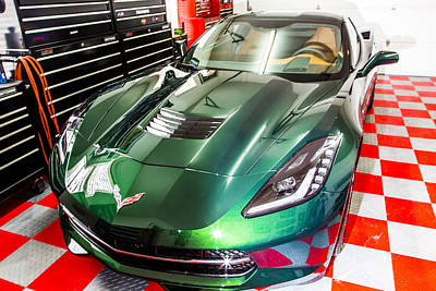Photograph - 2014 Corvette by Bill Linhares