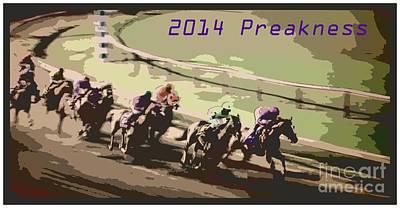 2014 Preakness Art Print by RJ Aguilar