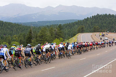 Two Wheeler Photograph - 2014 Usa Pro Cycling Challenge by Steve Krull