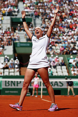 Photograph - 2015 French Open - Day Eleven by Julian Finney