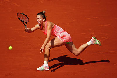 Photograph - 2015 French Open - Day Four by Clive Mason
