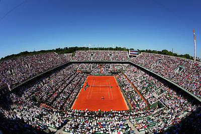 General Photograph - 2015 French Open - Day Fourteen by Clive Brunskill