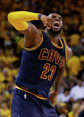 Photograph - 2015 Nba Finals - Game Two by Ezra Shaw