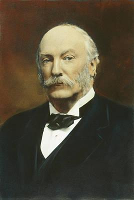 Strutt Photograph - 3rd Baron Rayleigh (1842-1919) by Granger