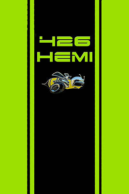 Photograph - 426 Hemi by Sennie Pierson