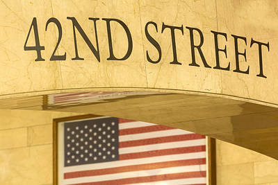Photograph - 42nd Street by Susan Candelario