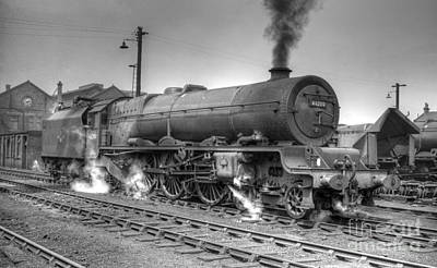 Photograph - 46200 The Princess Royal by David Birchall