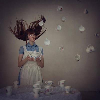 Alice In Wonderland Photograph - 5 O'clock  by Anka Zhuravleva