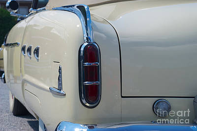 Photograph - 52 Packard Convertible Tail by Mark Dodd