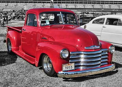 '53 Chevy Truck Art Print