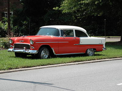Photograph - 55 Chevy by Frank Romeo