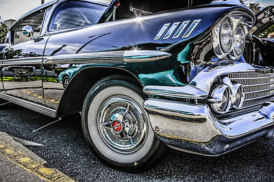 58 Chevy Impala Art Print