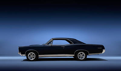 American Muscle Digital Art - 67 Gto by Douglas Pittman