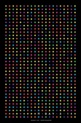 Digital Art - 700 Digits Of Pi by Martin Krzywinski