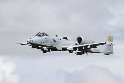 Stealth Photograph - A-10 Thunderbolt II by Celestial Images