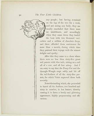 A Book Of Nonsense By Lear Art Print