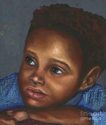 A Boy Art Print by Alga Washington