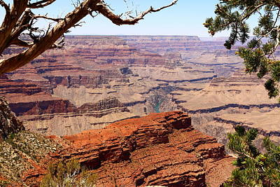 A Breathtaking Grand Canyon View Art Print by Christiane Schulze Art And Photography