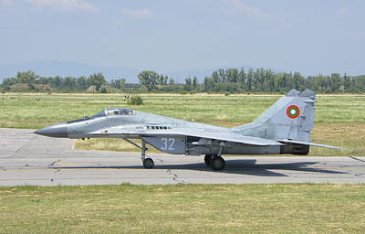 Jet Star Photograph - A Bulgarian Air Force Mig-29 by Giovanni Colla