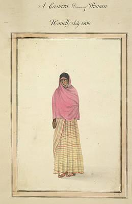 A Canara Dancing Woman Art Print