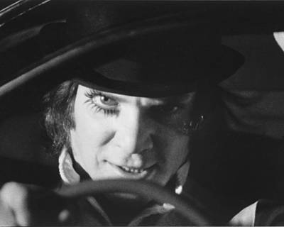 Malcolm Photograph - A Clockwork Orange by Silver Screen