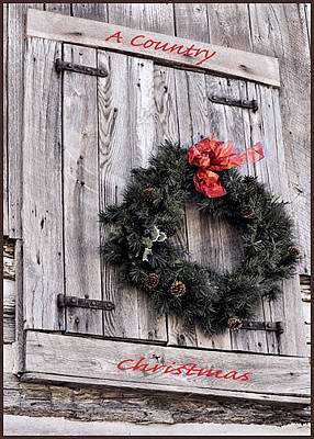 Photograph - A Country Christmas by Deb Buchanan