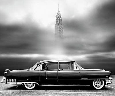 Cadillac Photograph - A Crack In The World by Larry Butterworth