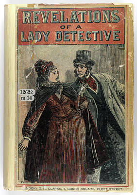 Etc. Photograph - A Lady Detective by British Library