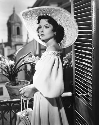 A Lady Without Passport, Hedy Lamarr Print by Everett