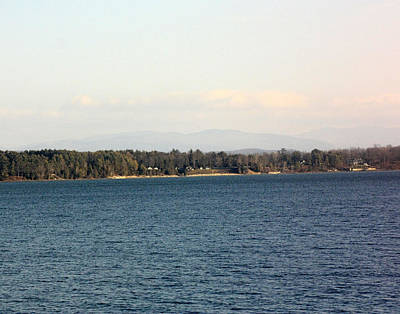 Halloween Movies - A Lovely View Of Lake Champlain by James Connor