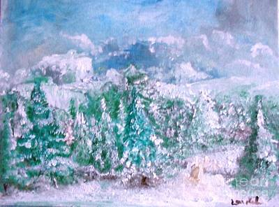 Painting - A Natural Christmas by Laurie L