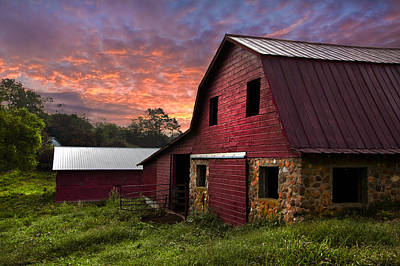 Tn Barn Photograph - A New Start by Debra and Dave Vanderlaan