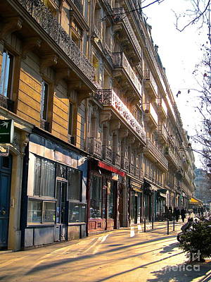 Photograph - A Paris Morning by Suzanne Oesterling