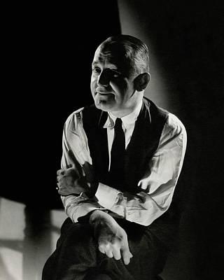 Photograph - A Portrait Of George M. Cohan by Edward Steichen