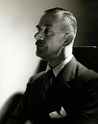 A Portrait Of Thomas Mann Art Print by Edward Steichen
