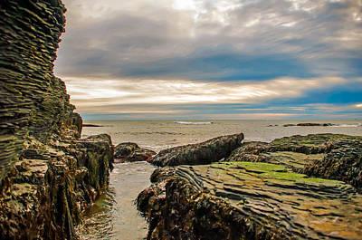 Photograph - A Shot Of An Early Morning Aquidneck Island Newport Ri by Alex Grichenko