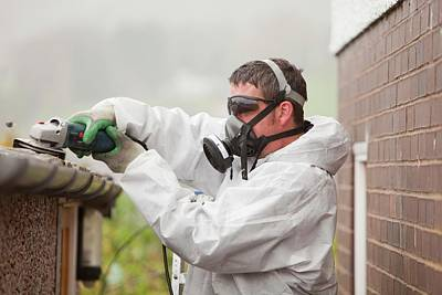 A Specialist Asbestos Removal Company Art Print by Ashley Cooper
