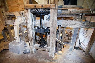 Water Mill Photograph - A Traditional Water Mill At Acorn Bank by Ashley Cooper
