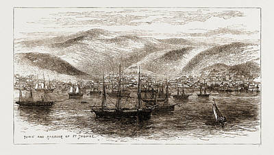 West Indies Drawing - A Visit To The West Indies by Litz Collection