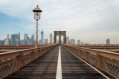 Photograph - A Walk In Brooklyn by Dustin  LeFevre