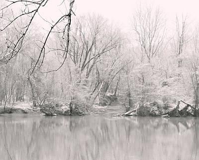 A Whisper Of Snow Art Print