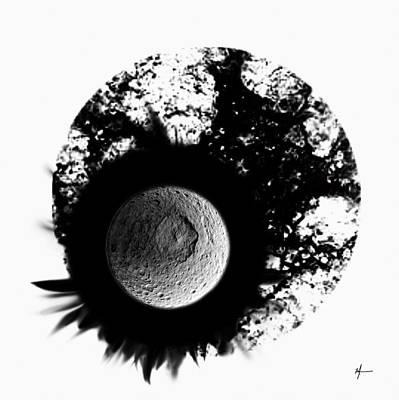 A World Within My Paint Pot --. Art Print