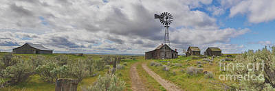 Photograph - Abandon Ranch Panorama by Ansel Price